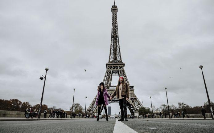 FOTOGRAFIA DI COPPIA A PARIGI